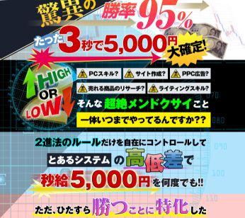 矢竹次郎氏のマネーフィックスゲーム