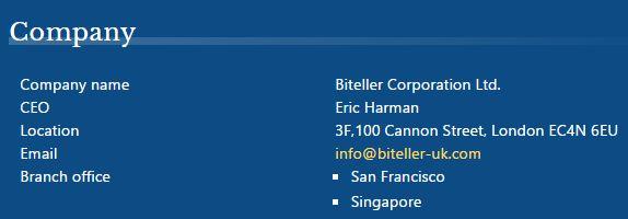 ビッテラーの企業情報