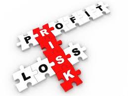 profit(利益)とloss(損失)とrisk(リスク)