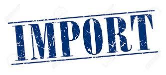 輸入(import)