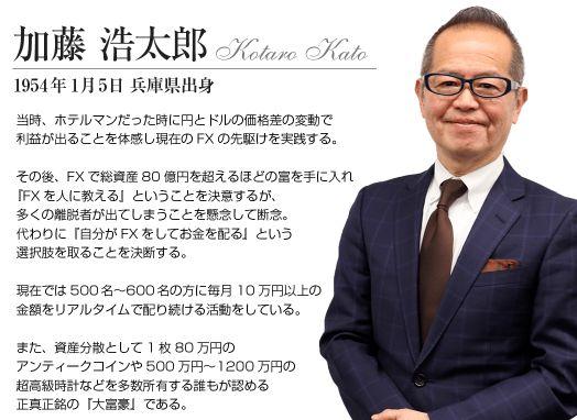 加藤浩太郎のプロフィール