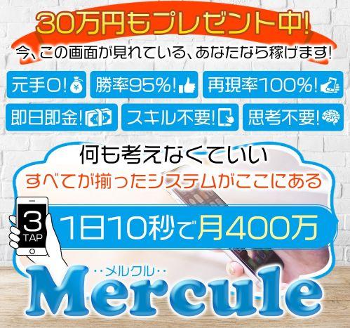 加藤一郎のメルクル(mercule)