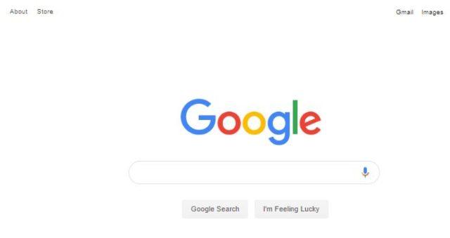 アメリカ版のGoogle