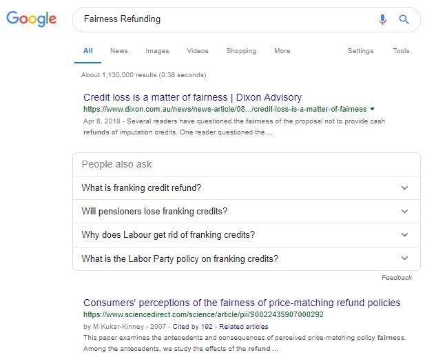 シンガポール版のグーグル検索