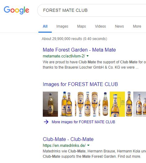 FOREST MATE CLUBの検索結果