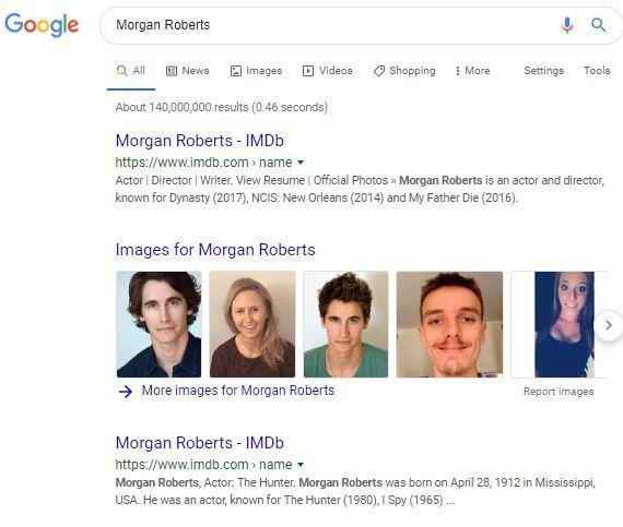 Morgan Robertsの検索結果