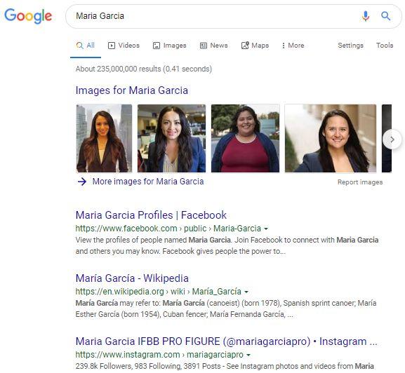 Maria Garciaの検索結果