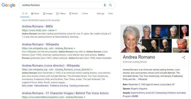 Andrea Romanoの検索結果