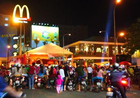 ベトナムでのマクドナルド1号店